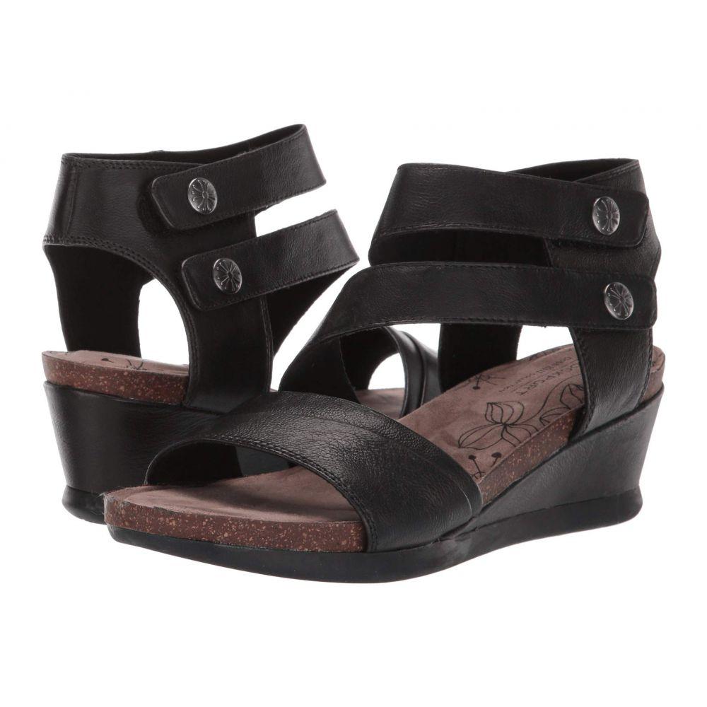 ロックポート Rockport Cobb Hill Collection レディース サンダル・ミュール シューズ・靴【Shona Asym Cuff】Black Metallic
