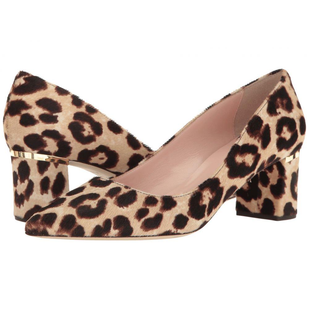 ケイト スペード Kate Spade New York レディース パンプス シューズ・靴【Milan Too】Blush/Brown Leopard Haircalf Print