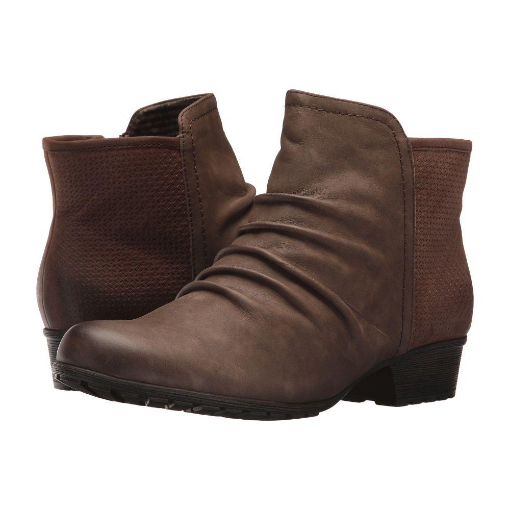 ロックポート Rockport Cobb Hill Collection レディース ブーツ シューズ・靴【Cobb Hill Gratasha Panel Boot】Stone Nubuck
