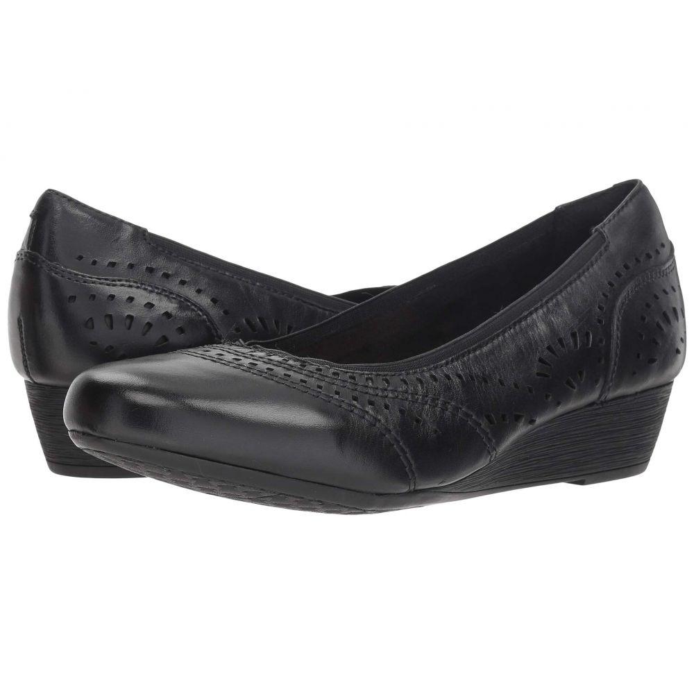 ロックポート Rockport Cobb Hill Collection レディース パンプス シューズ・靴【Cobb Hill Judson Perf Pump】Black Leather