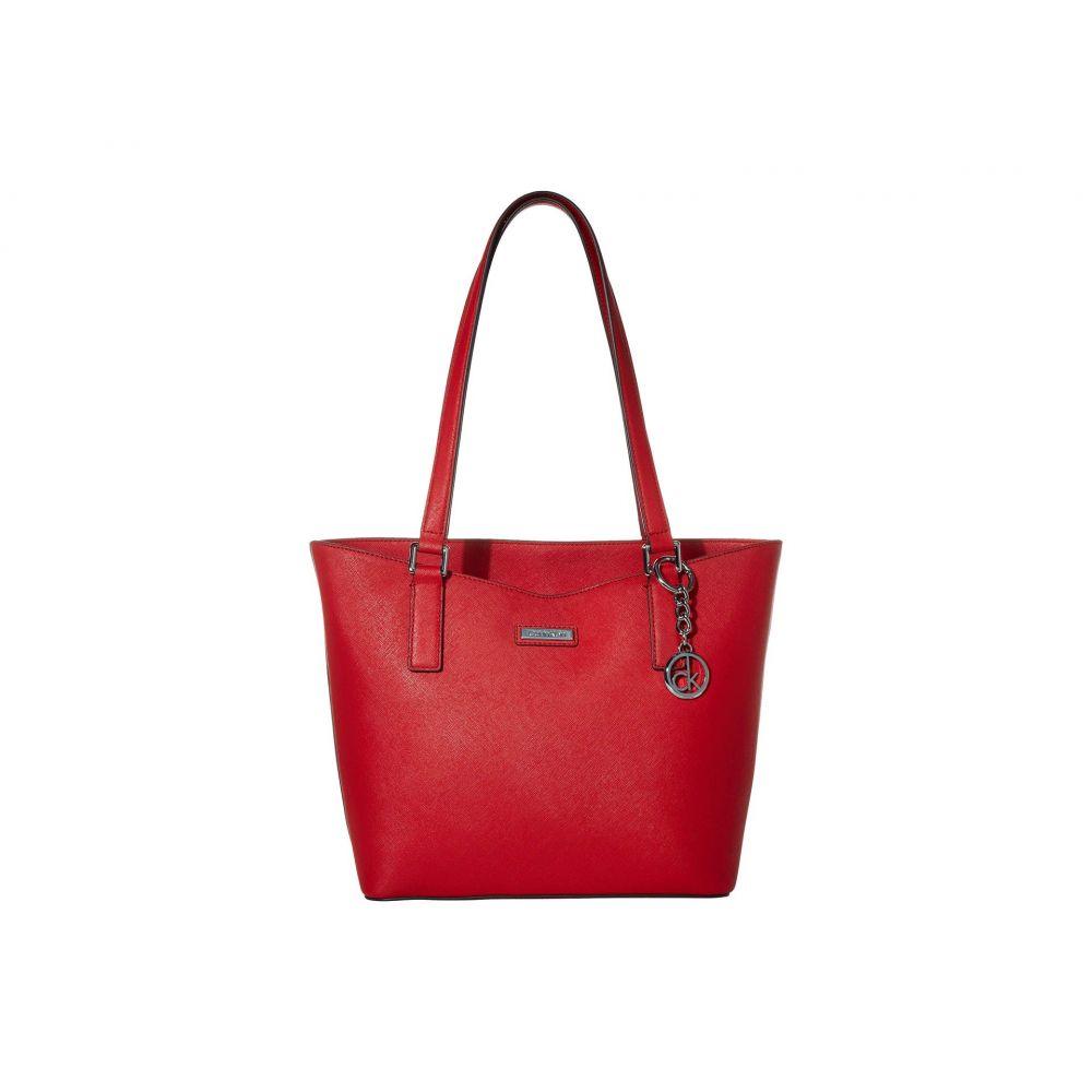 カルバンクライン Calvin Klein レディース トートバッグ バッグ【Key Item Saffiano Tote】Poppy