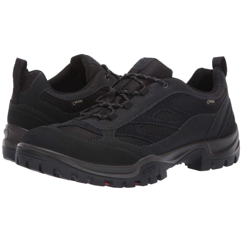 エコー Ecco Performance メンズ ハイキング・登山 シューズ・靴【Drak II GTX Low】Black/Black