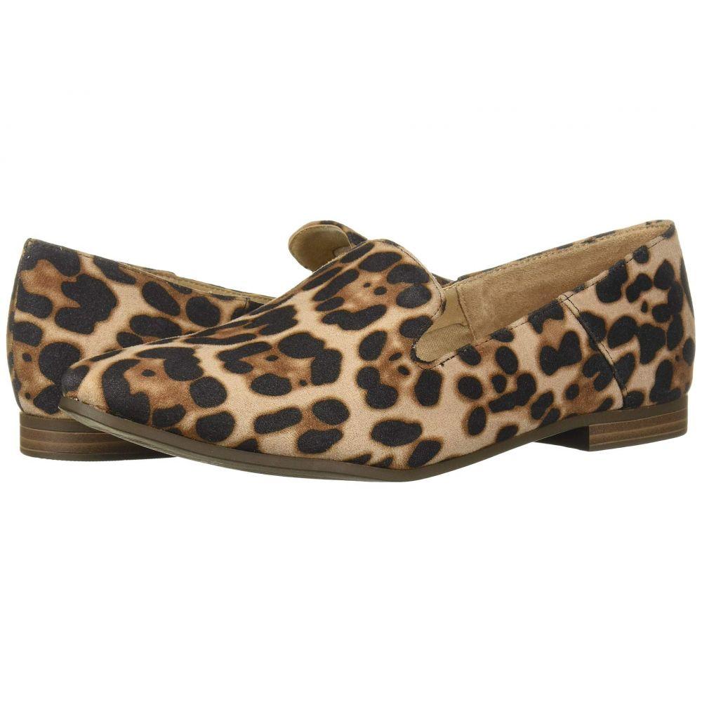 ソウル ナチュラライザー SOUL Naturalizer レディース ローファー・オックスフォード シューズ・靴【Janelle】Natural Cheetah Fabric