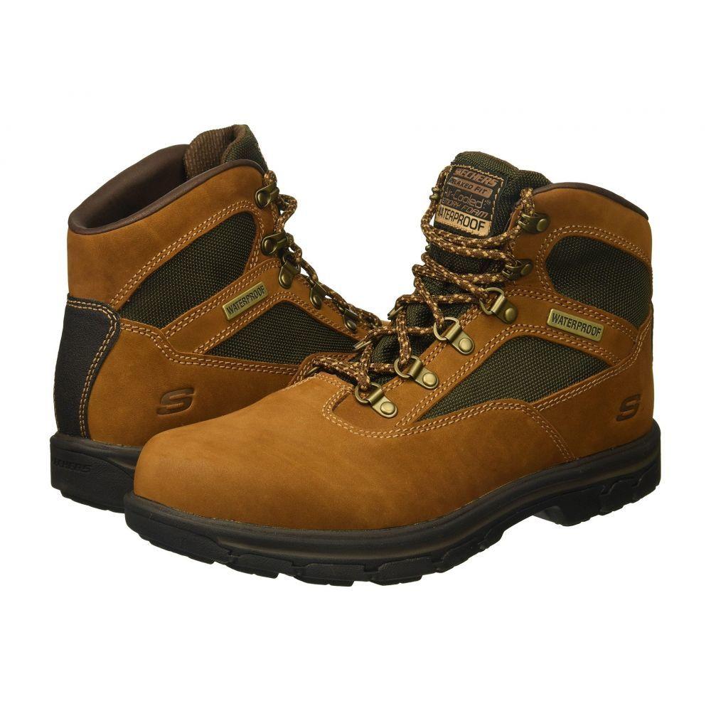 スケッチャーズ SKECHERS メンズ ハイキング・登山 シューズ・靴【Relaxed Fit: Segment - Mixon】Brown