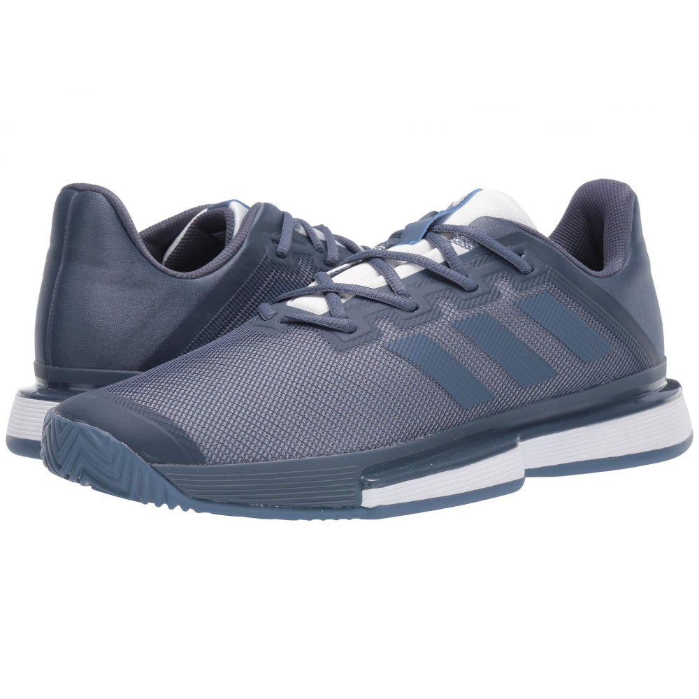アディダス adidas メンズ テニス シューズ・靴【SoleMatch Bounce】Tech Ink/Tech Ink/Footwear White