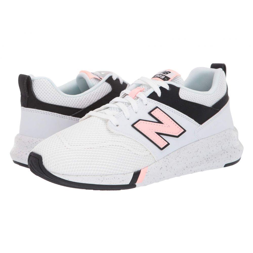 ニューバランス New Balance レディース ランニング・ウォーキング シューズ・靴【009 Modern Classic】White/Black