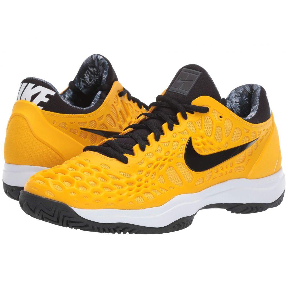 ナイキ Nike メンズ テニス シューズ・靴【Zoom Cage 3 HC】University Gold/Black/White/Volt Glow