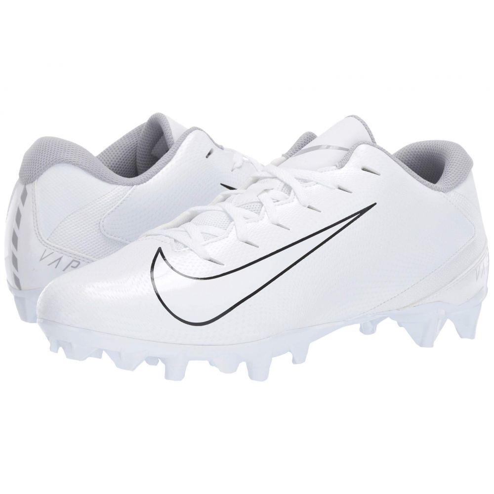 ナイキ Nike メンズ アメリカンフットボール シューズ・靴【Vapor Varsity 3 TD】White/White/Wolf Grey