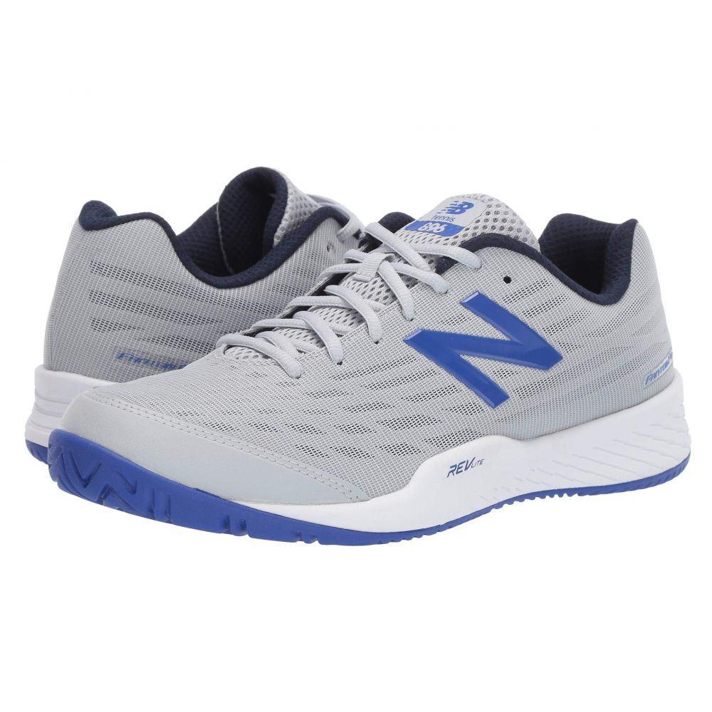 ニューバランス New Balance メンズ テニス シューズ・靴【MCH896v2】Light Aluminum/UV Blue