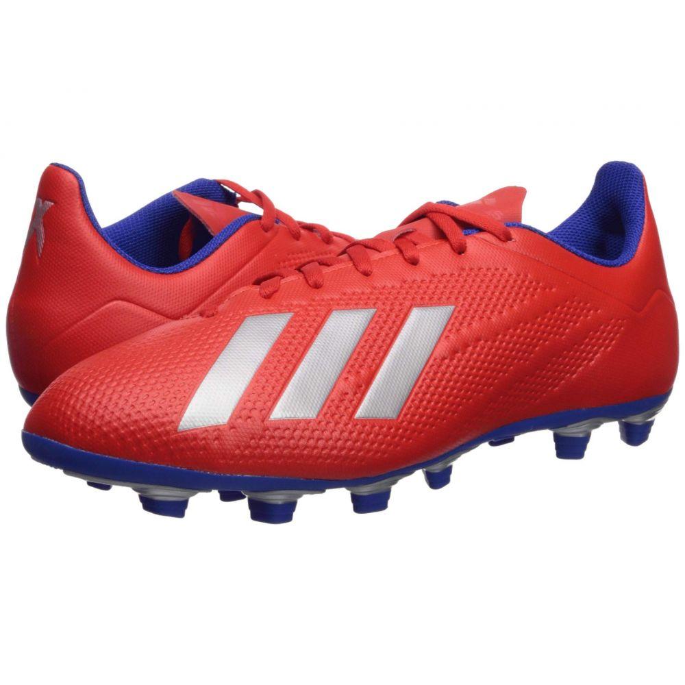 アディダス adidas メンズ サッカー シューズ・靴【X 18.4 FG】Active Red/Silver Metallic/Bold Blue