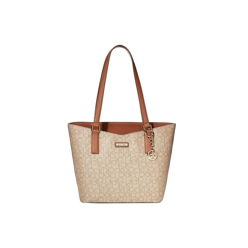 カルバンクライン Calvin Klein レディース トートバッグ バッグ【Key Item Monogram Tote】Natural/Luggage