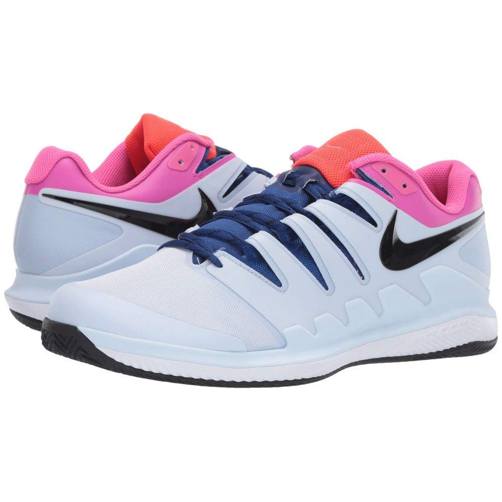 ナイキ Nike メンズ テニス エアズーム シューズ・靴【Air Zoom Vapor X Clay】Half Blue/Black/White/Laser Fuchsia