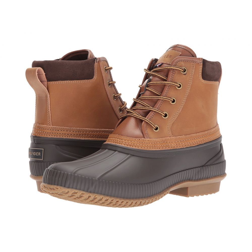 トミー ヒルフィガー Tommy Hilfiger メンズ レインシューズ・長靴 シューズ・靴【casey】Cognac Leather