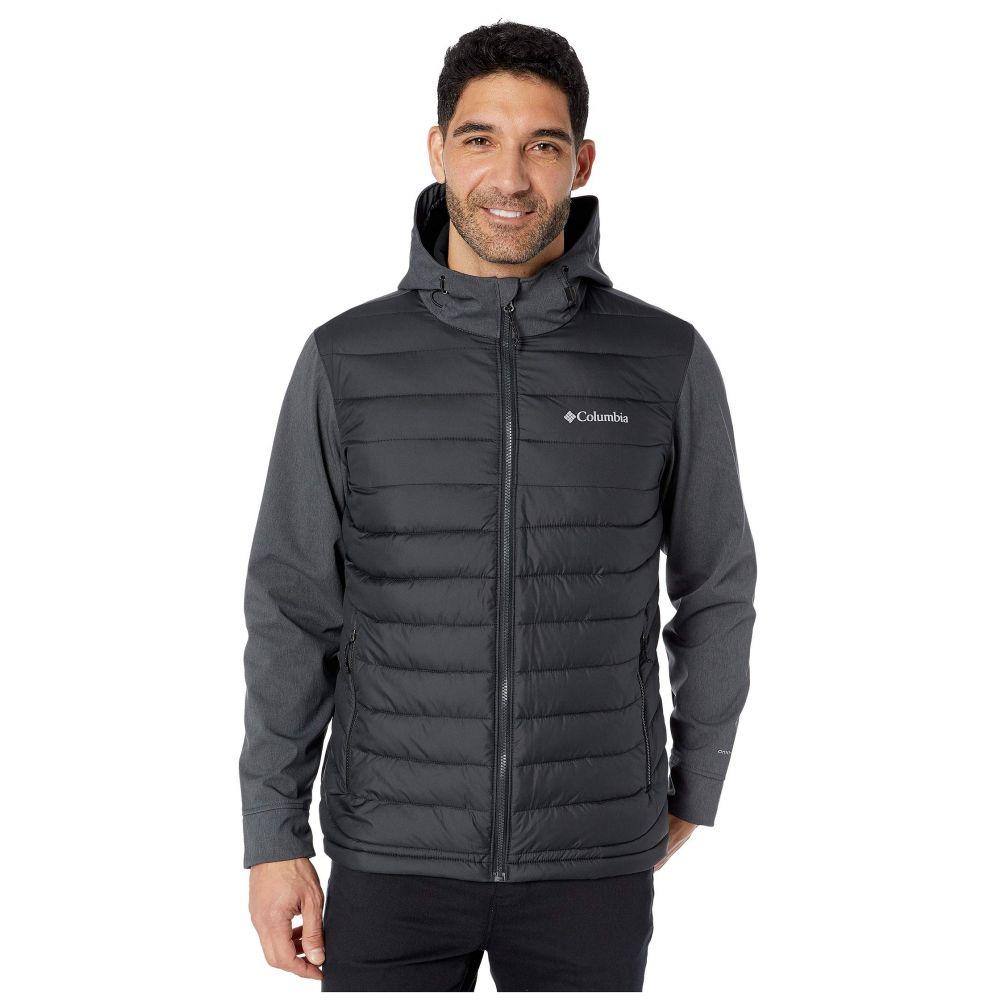 コロンビア Columbia メンズ ジャケット アウター【powder lite hybrid jacket】Black/Black Heather