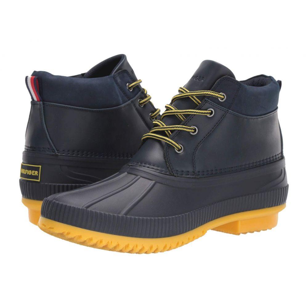 トミー ヒルフィガー Tommy Hilfiger メンズ レインシューズ・長靴 シューズ・靴【celcius 2】Dark Blue