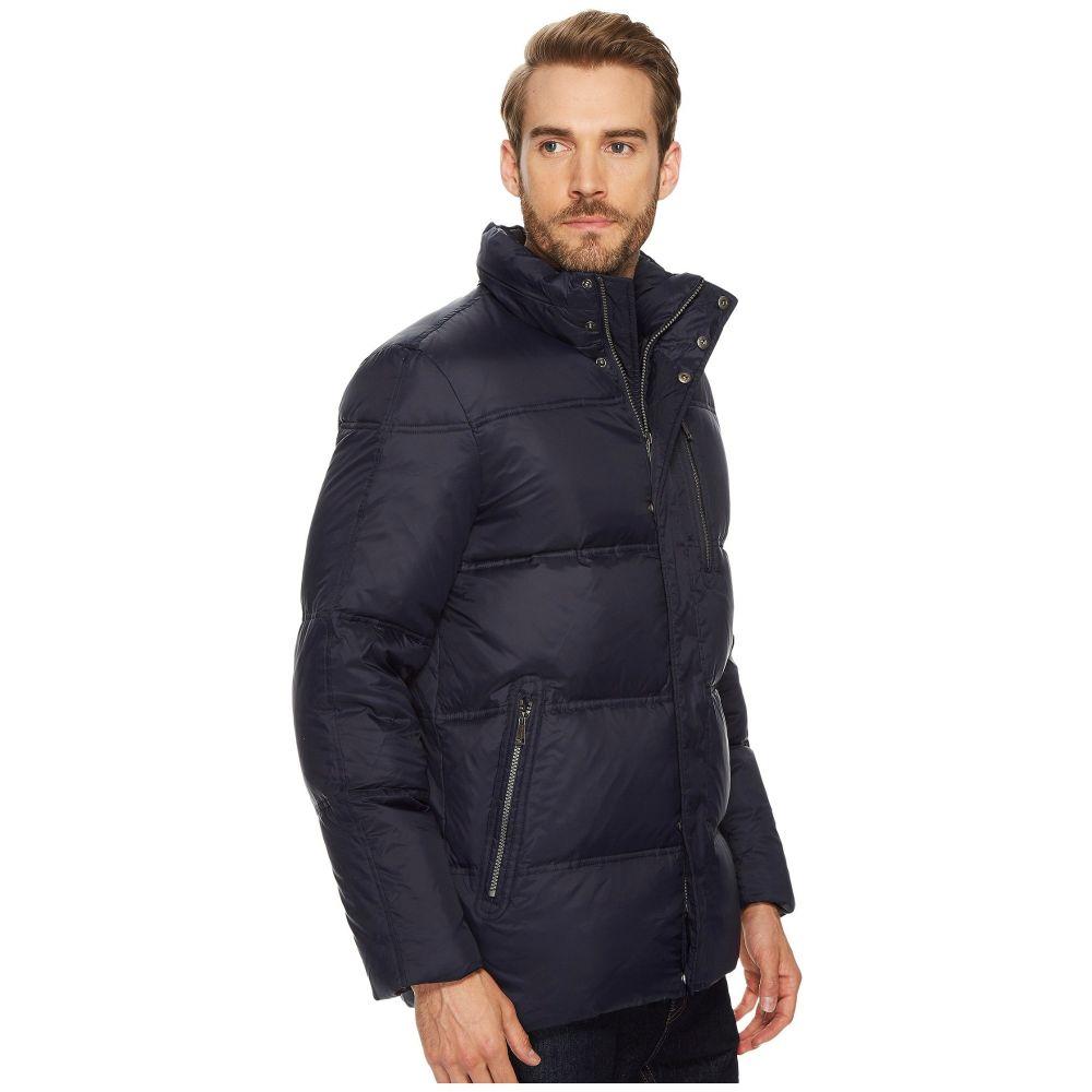 コールハーン Cole Haan メンズ ジャケット 枕 アウター 32 zip front packable to travel pillow with fleece trim quilted jacket NavyXiOTPkZu