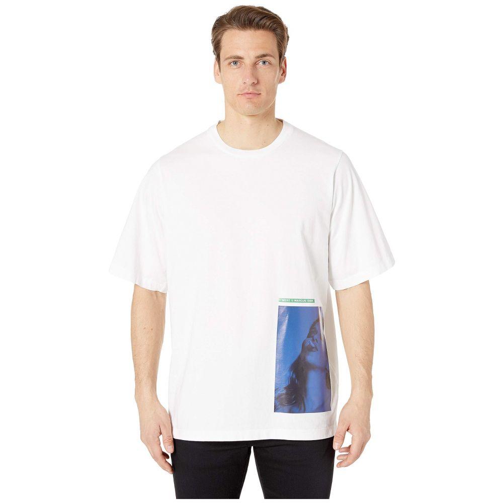 ディースクエアード DSQUARED2 メンズ Tシャツ トップス【mert & marcus slouch fit t-shirt】White