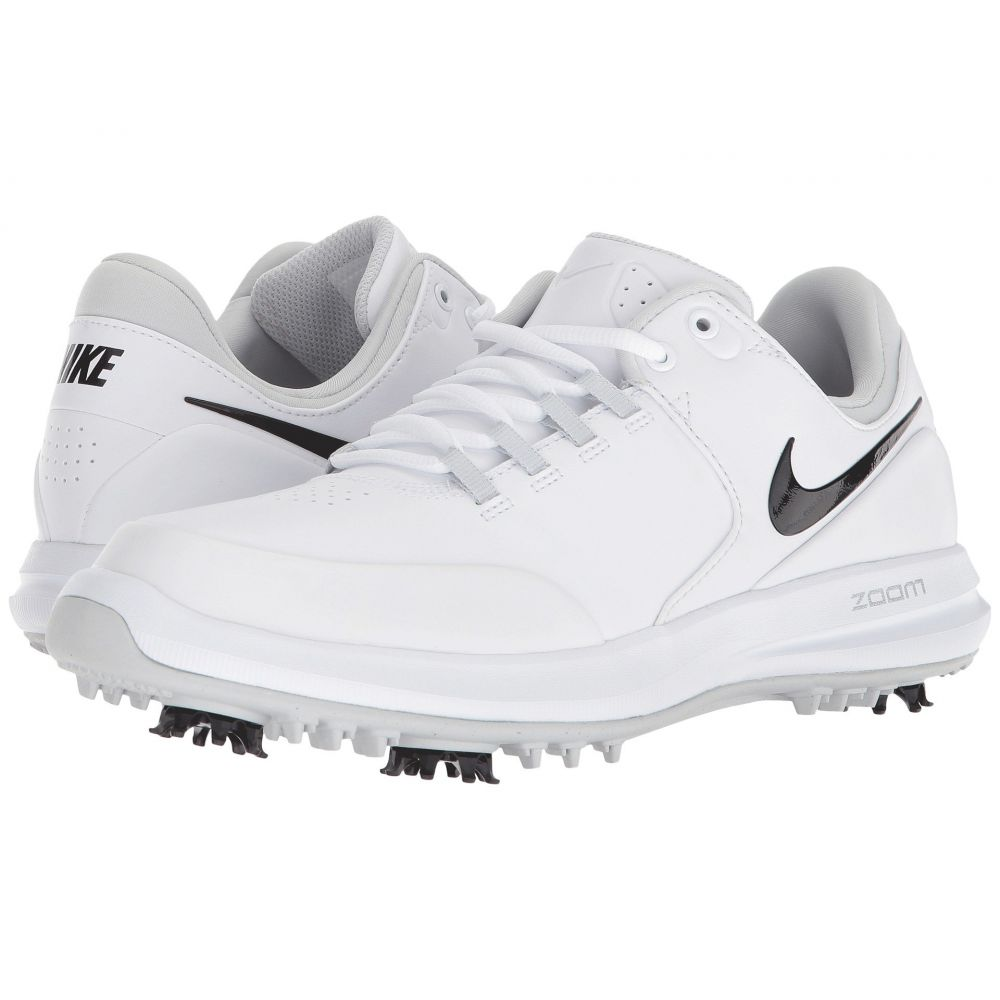 ナイキ Nike Golf レディース スニーカー エアズーム シューズ・靴【air zoom accurate】White/Black/Metallic Silver/Pure Platinum