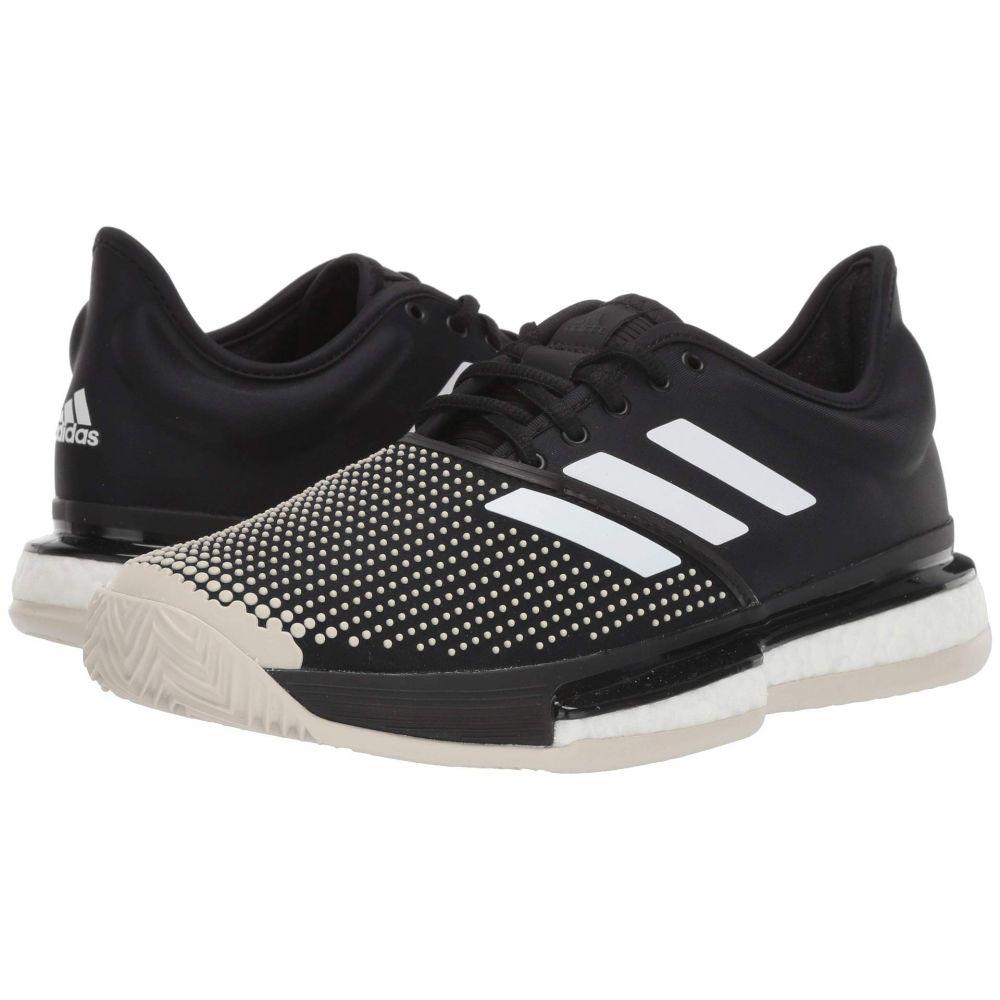 アディダス adidas レディース スニーカー シューズ・靴【solecourt boost clay】Core Black/Core Black/Footwear White