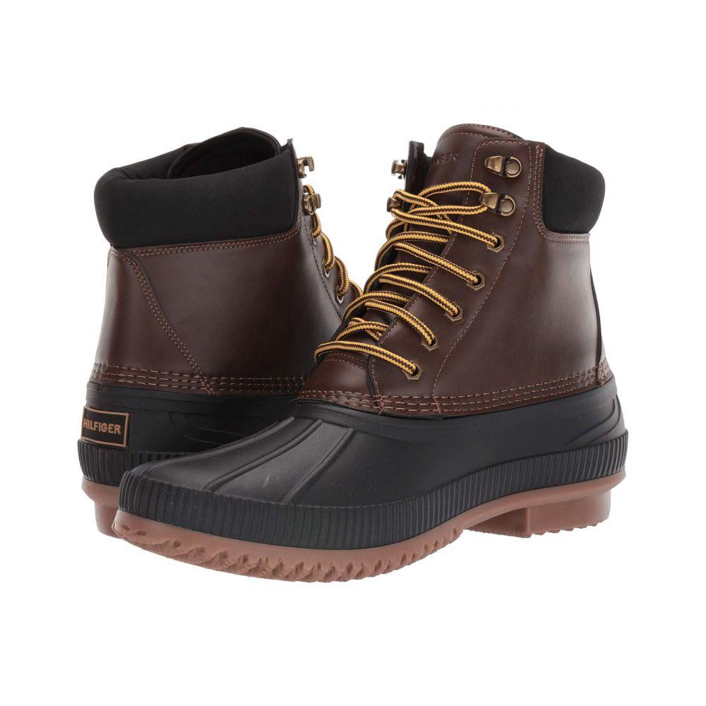 トミー ヒルフィガー Tommy Hilfiger メンズ レインシューズ・長靴 シューズ・靴【Colins 2】Dark Brown