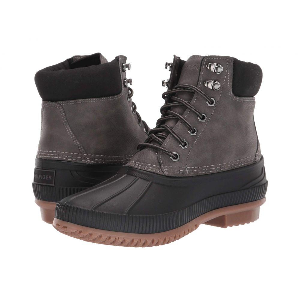 トミー ヒルフィガー Tommy Hilfiger メンズ レインシューズ・長靴 シューズ・靴【Colins 2】Dark Grey