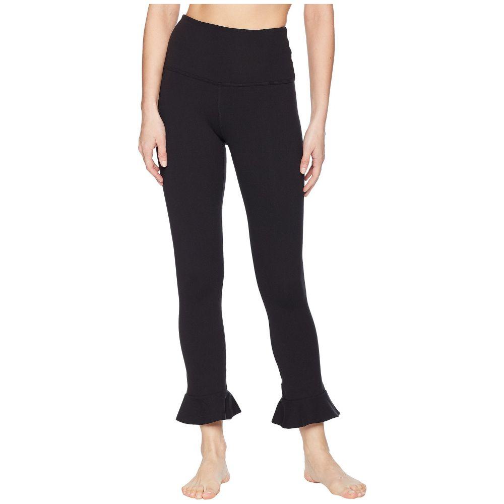 ビヨンドヨガ Beyond Yoga レディース スパッツ・レギンス インナー・下着【Frill Seeker High-Waist Midi Leggings】Jet Black