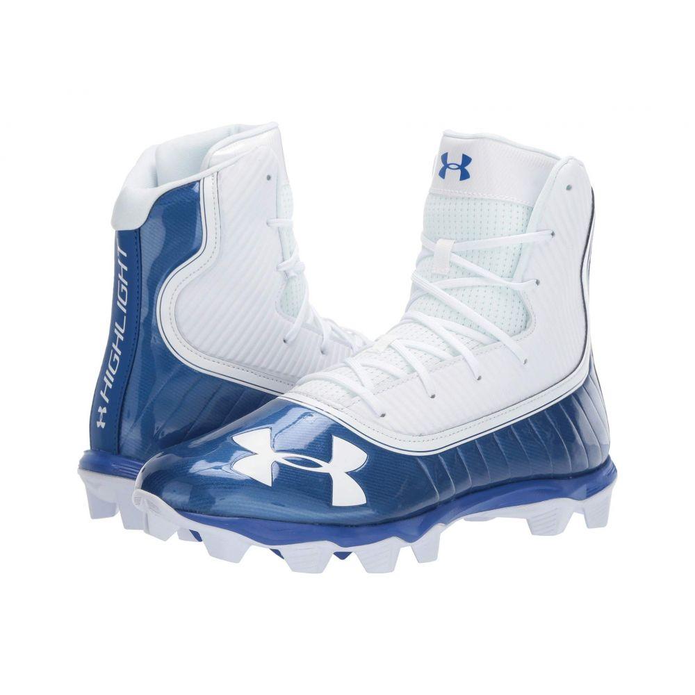 アンダーアーマー Under Armour メンズ アメリカンフットボール シューズ・靴【UA Highlight RM】Team Royal/White