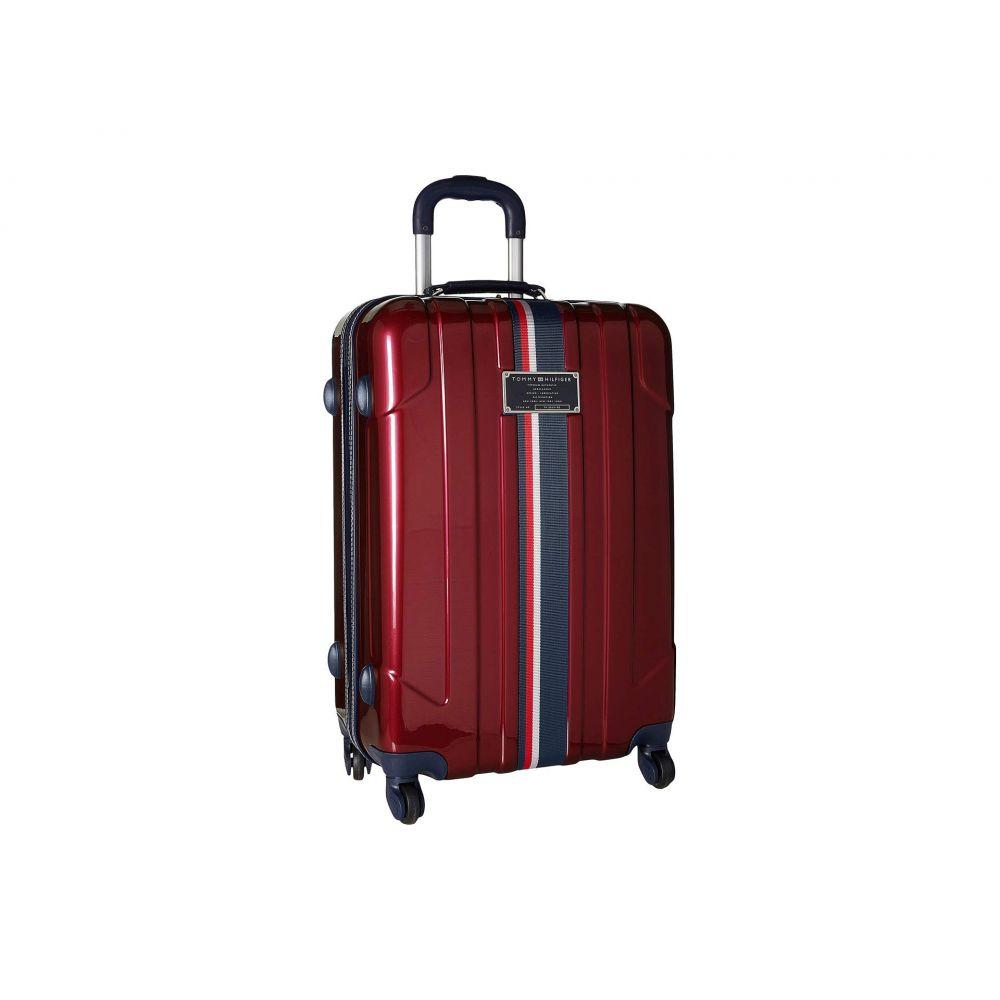 トミー ヒルフィガー Tommy Hilfiger ユニセックス スーツケース・キャリーバッグ バッグ【25 Lochwood Upright】Burgundy