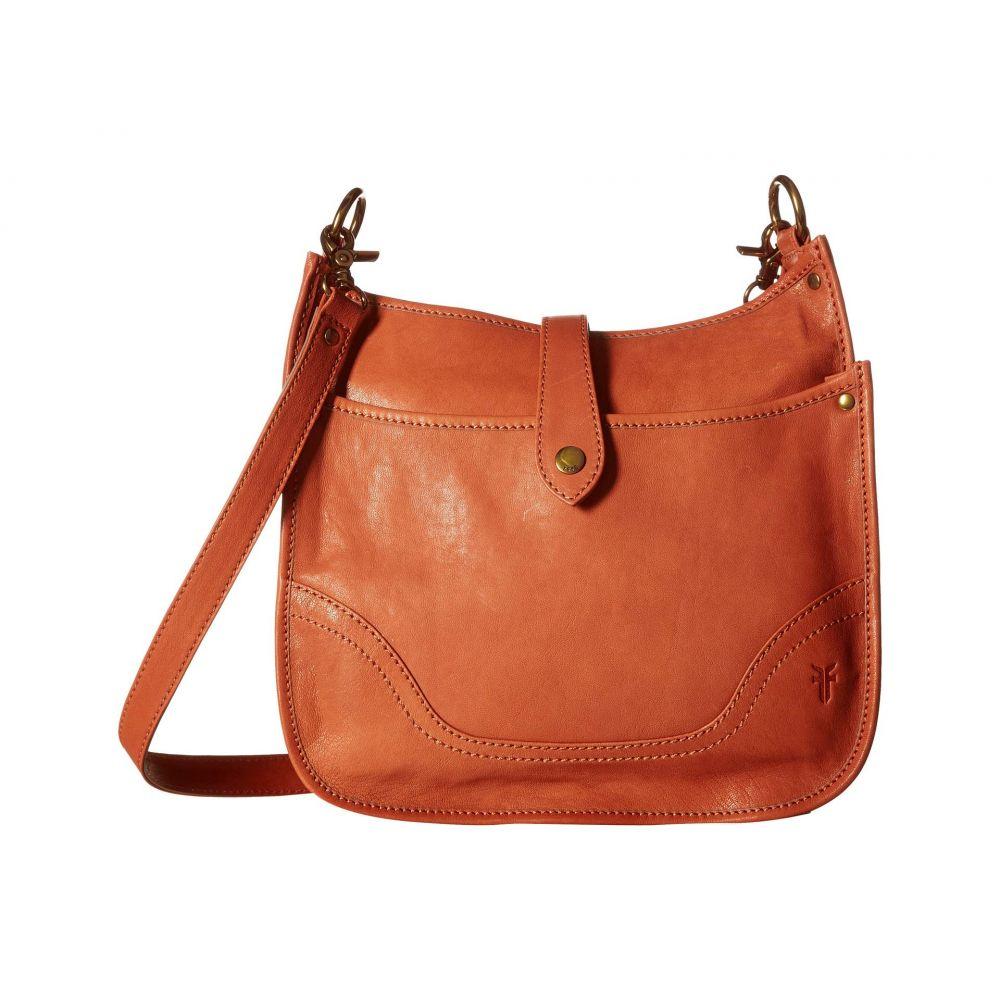 フライ Frye レディース ショルダーバッグ バッグ【Madison North/South Crossbody】Terracotta Soft Vintage Leather