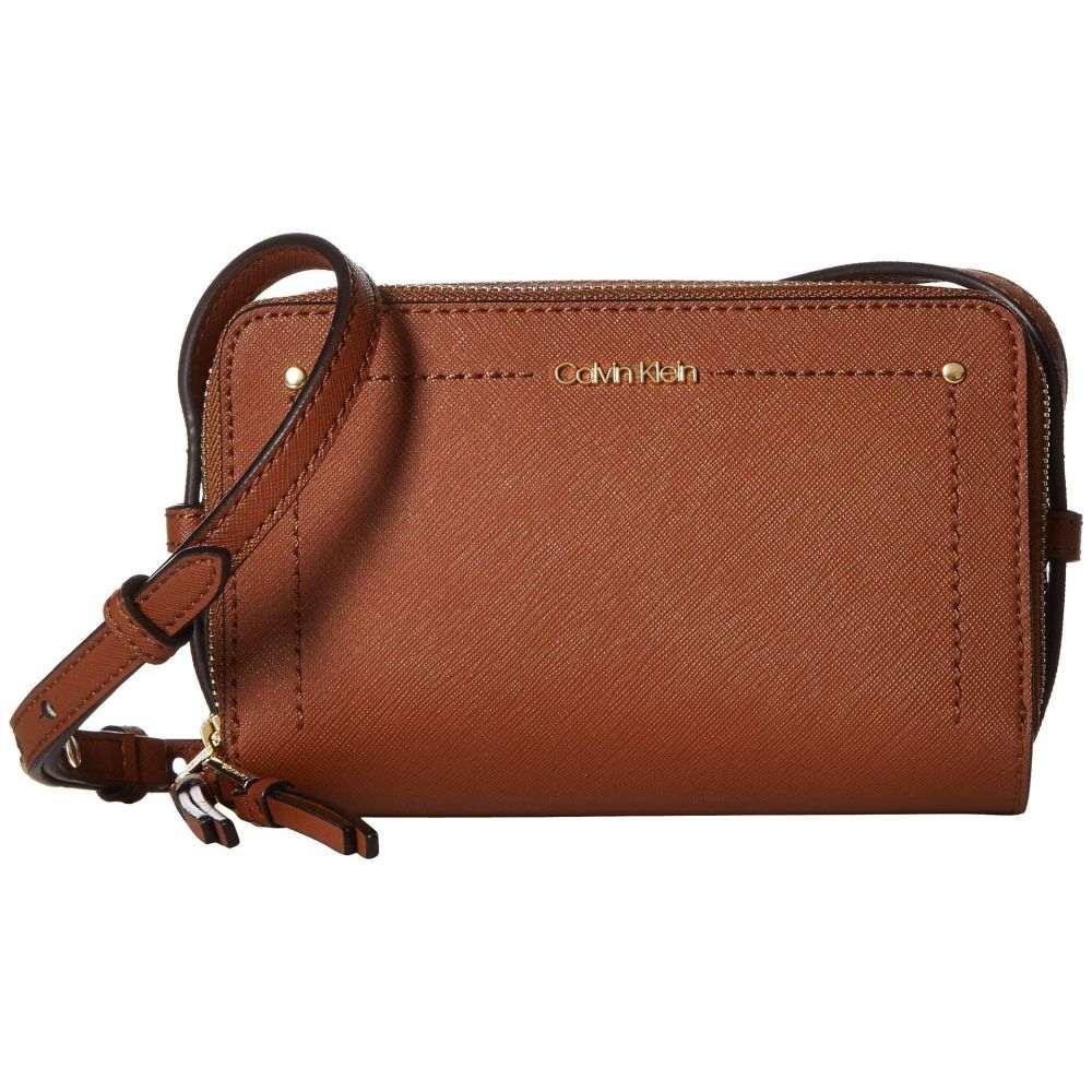 カルバンクライン Calvin Klein レディース ショルダーバッグ バッグ【Boxy Saffiano Crossbody】Luggage
