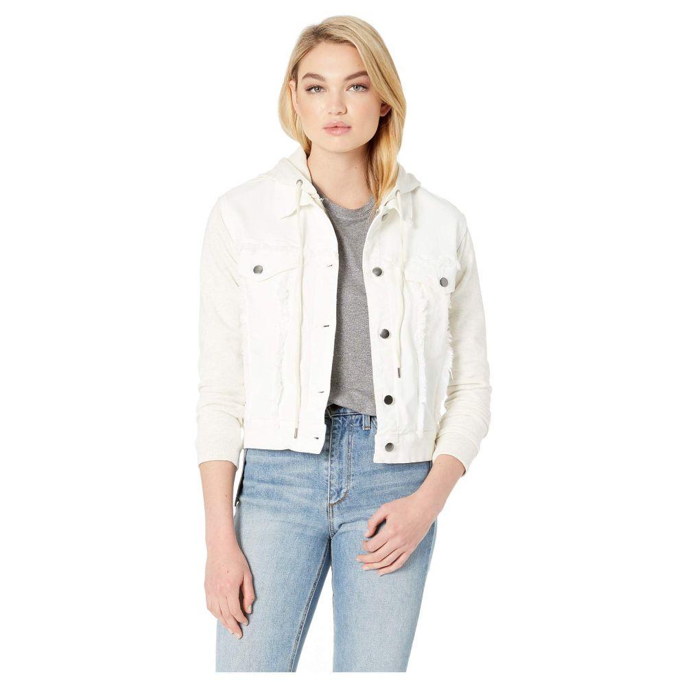 スプレンディッド Splendid レディース ジャケット フード アウター【Hooded Jacket】Vintage Off-White