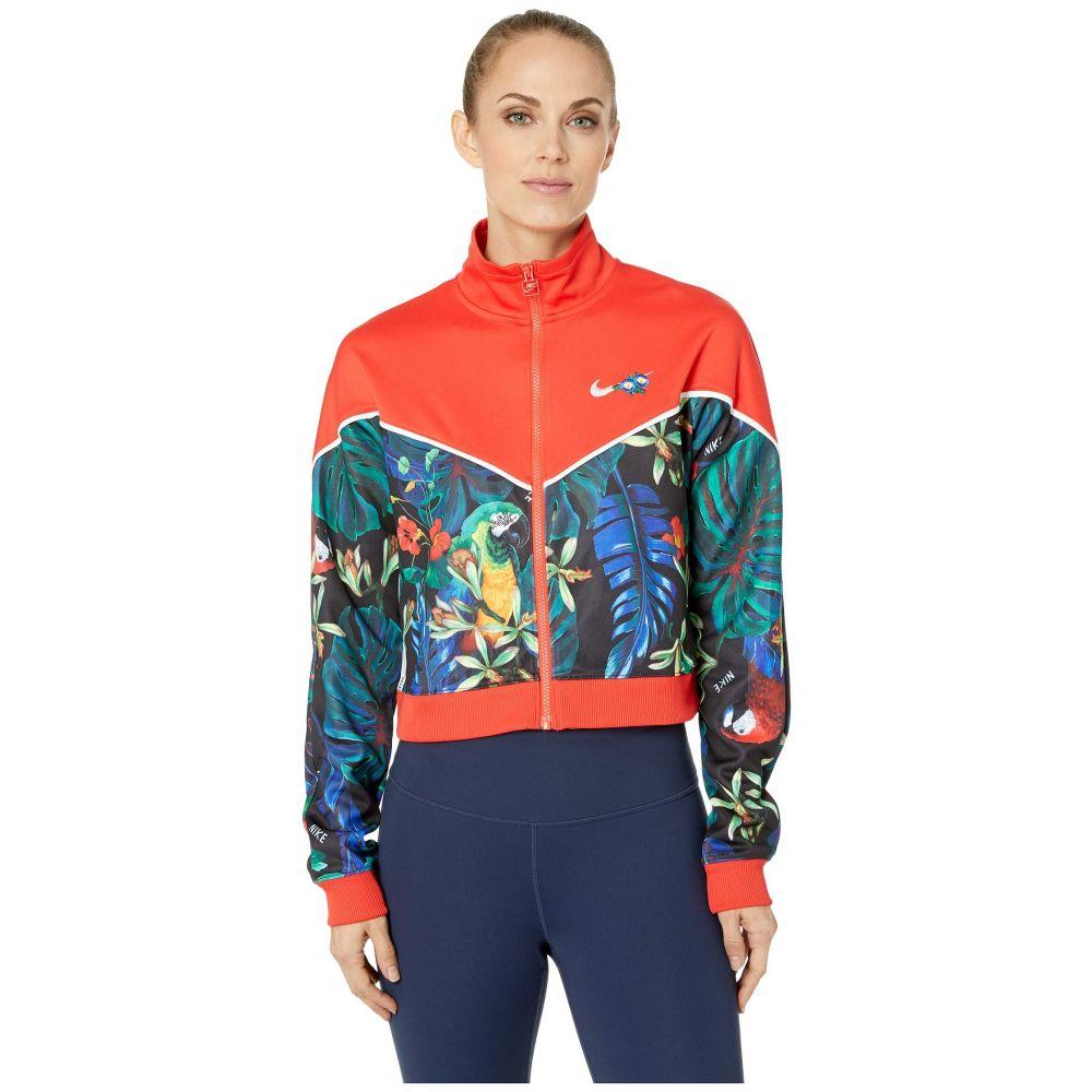 ナイキ Nike レディース ジャケット アウター【Sportswear Jacket Full Zip Hyper Femme】Light Crimson/Black/White
