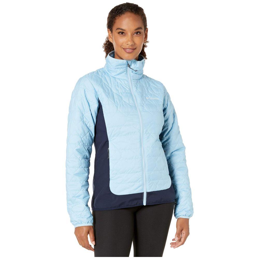 コロンビア Columbia レディース ダウン・中綿ジャケット アウター【Seneca Basin Hybrid Jacket】Crystal Blue/Dark Nocturnal