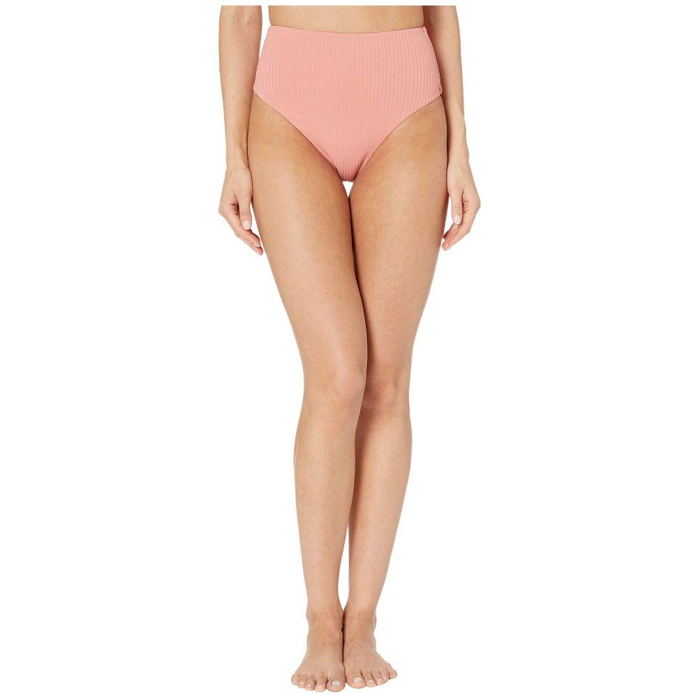 ビタミン A Vitamin A Swimwear レディース ボトムのみ 水着・ビーチウェア【Lupe Bottoms】Soft Coral EcoRib