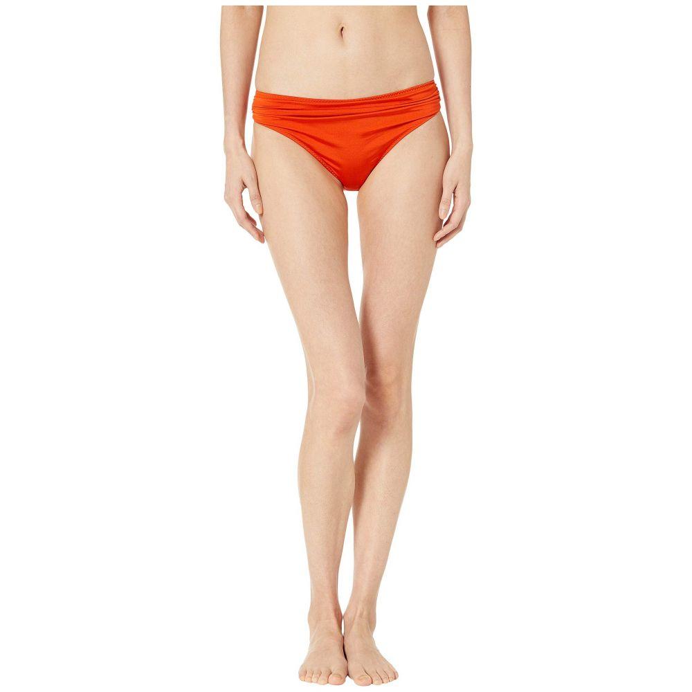 ステラ マッカートニー Stella McCartney レディース ボトムのみ 水着・ビーチウェア【Ballet Draped Classic Bikini Bottoms】Orange/Cream