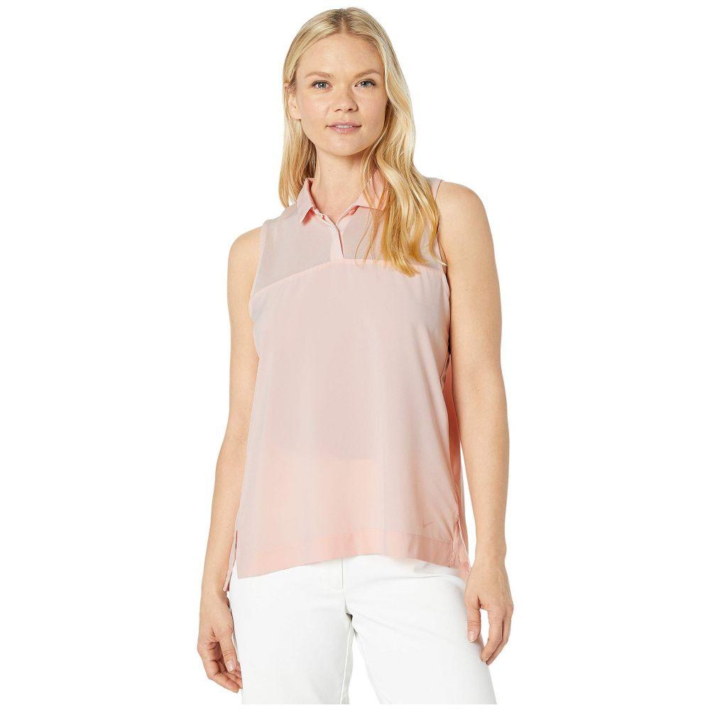 ナイキ Nike Golf レディース ポロシャツ トップス【Dry Flex Sleeveless Polo】Echo Pink/Echo Pink