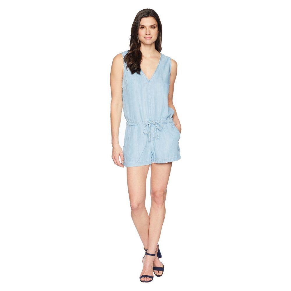 マーヴィ ジーンズ Mavi Jeans レディース オールインワン ワンピース・ドレス Valeria Romper in Light Bleach Light BleachhsQdCBtrx