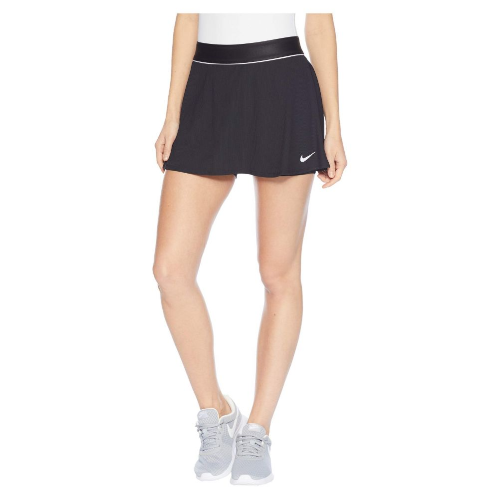 ナイキ Nike レディース スカート 【Court Dry Skirt Flouncy】Black/White/Black