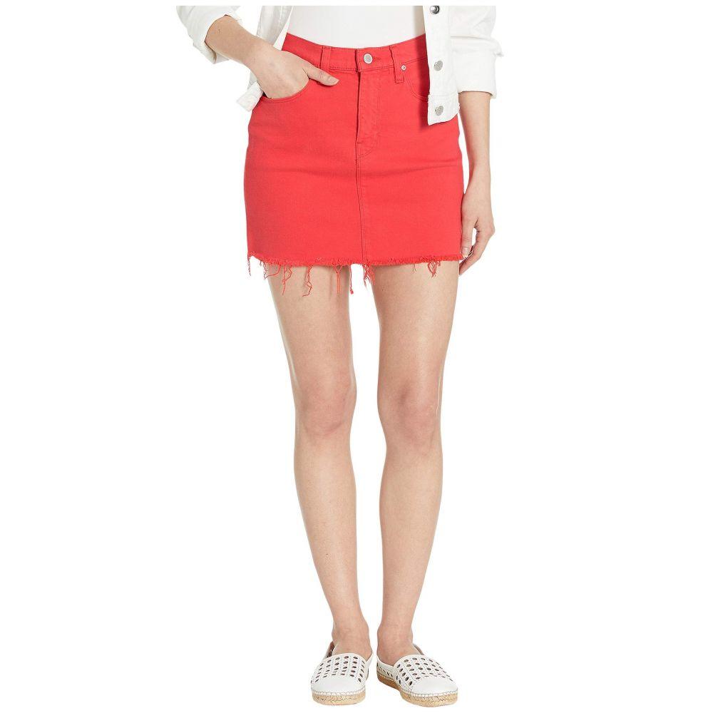 ハドソンジーンズ Hudson Jeans レディース ミニスカート スカート【Viper Mini Skirt in Cherry】Cherry