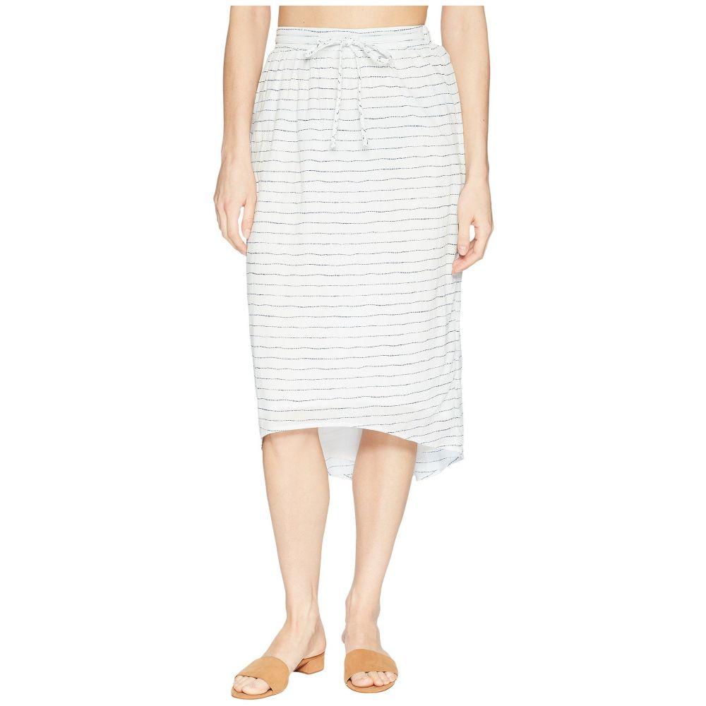 カーヴデザイン Carve Designs レディース スカート 【Cameron Skirt】White Water Stripe