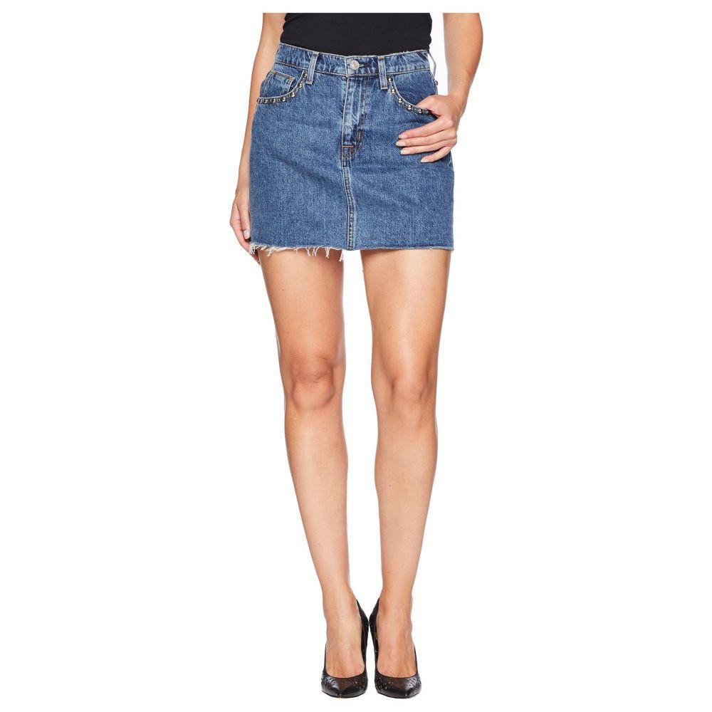 ハドソンジーンズ Hudson Jeans レディース ミニスカート スカート【The Viper Mini Skirt in Vibrant Life】Vibrant Life