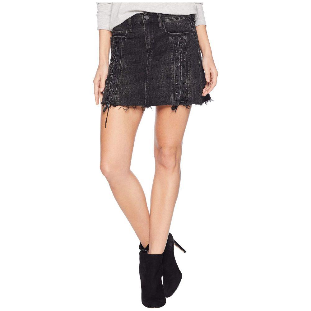 ブランクニューヨーク Blank NYC レディース ミニスカート スカート【Charcoal Grey/Black Lacing Detail Mini Skirt in Mystique】Mystique