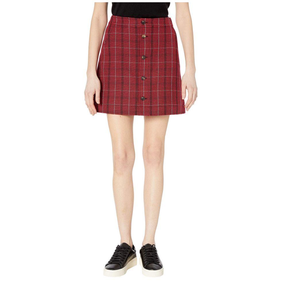 マックイーン McQ レディース スカート 【Varsity Skirt】Red Check