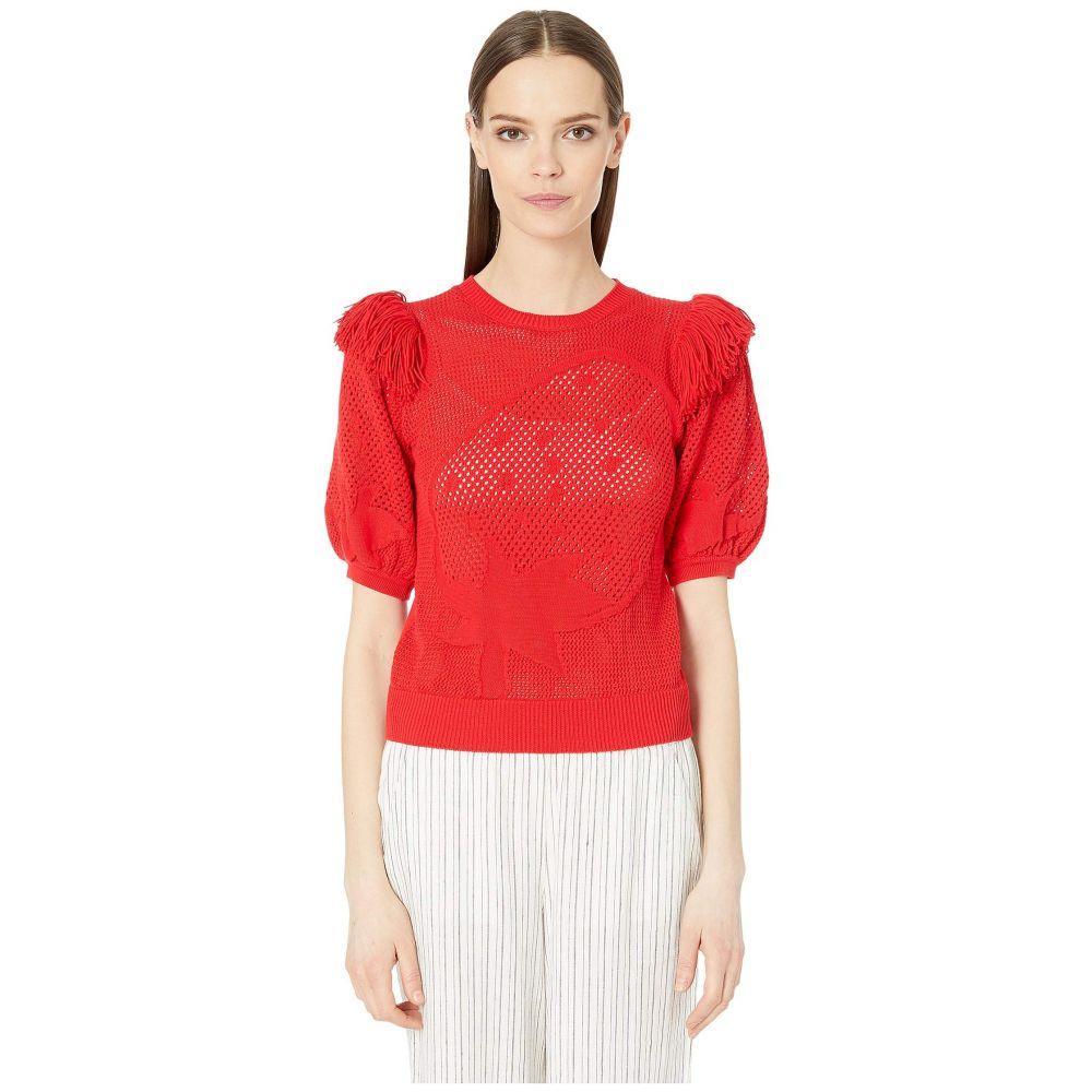 ソニア リキエル Sonia Rykiel レディース ニット・セーター トップス【Pullover Sweater】Rouge Rykiel