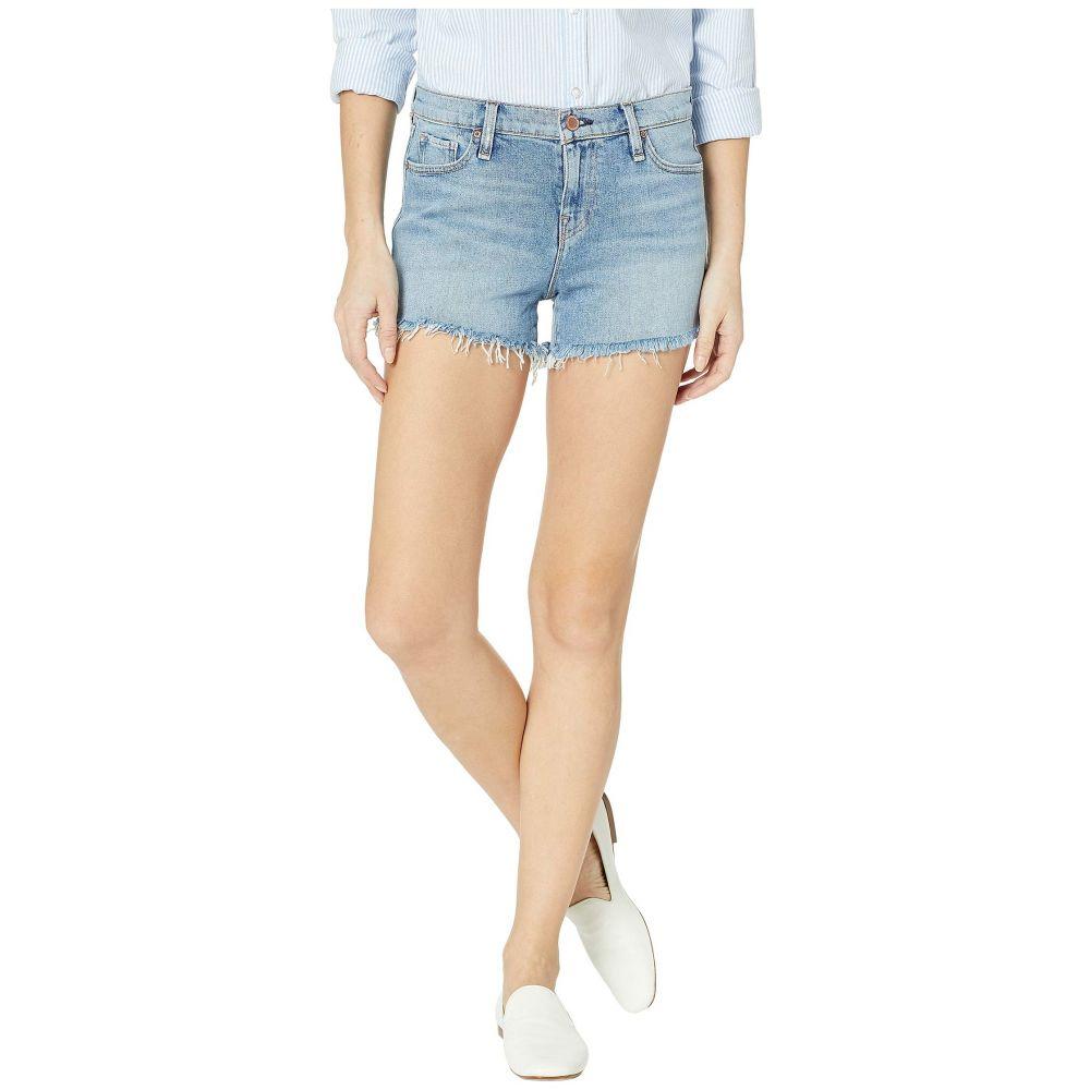 ハドソンジーンズ Hudson Jeans レディース ショートパンツ ボトムス・パンツ【Gemma Mid-Rise Cut Off Shorts in Long View】Long View