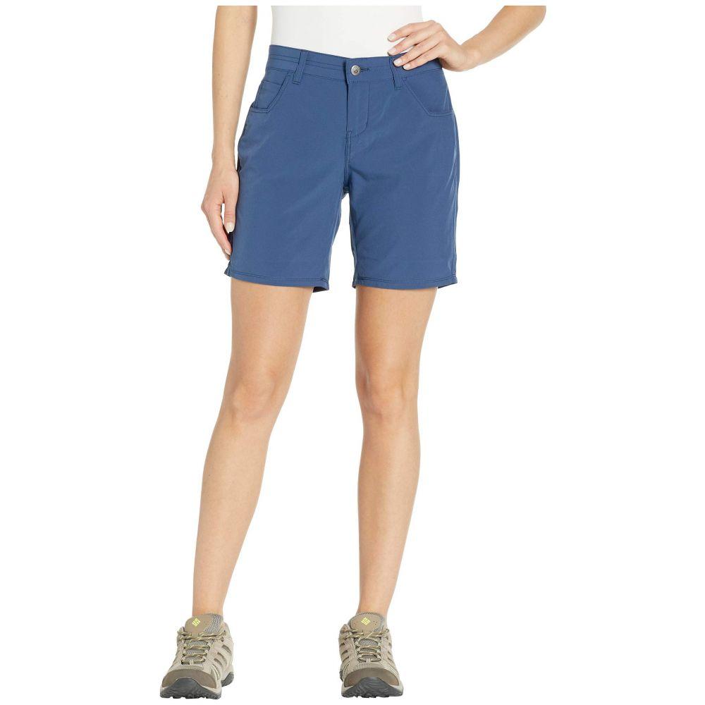 マウンテンカーキス Mountain Khakis レディース ショートパンツ ボトムス・パンツ【Azalea Shorts Classic Fit】Twilight Solid