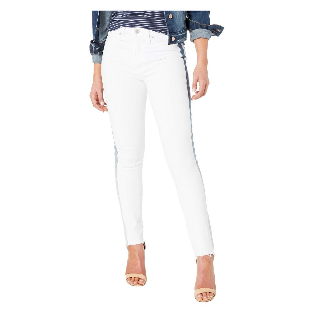 ハドソンジーンズ Hudson Jeans レディース ジーンズ・デニム ボトムス・パンツ【Barbara High-Rise Ankle Skinny Jeans with Denim Insert in White Ice】White Ice