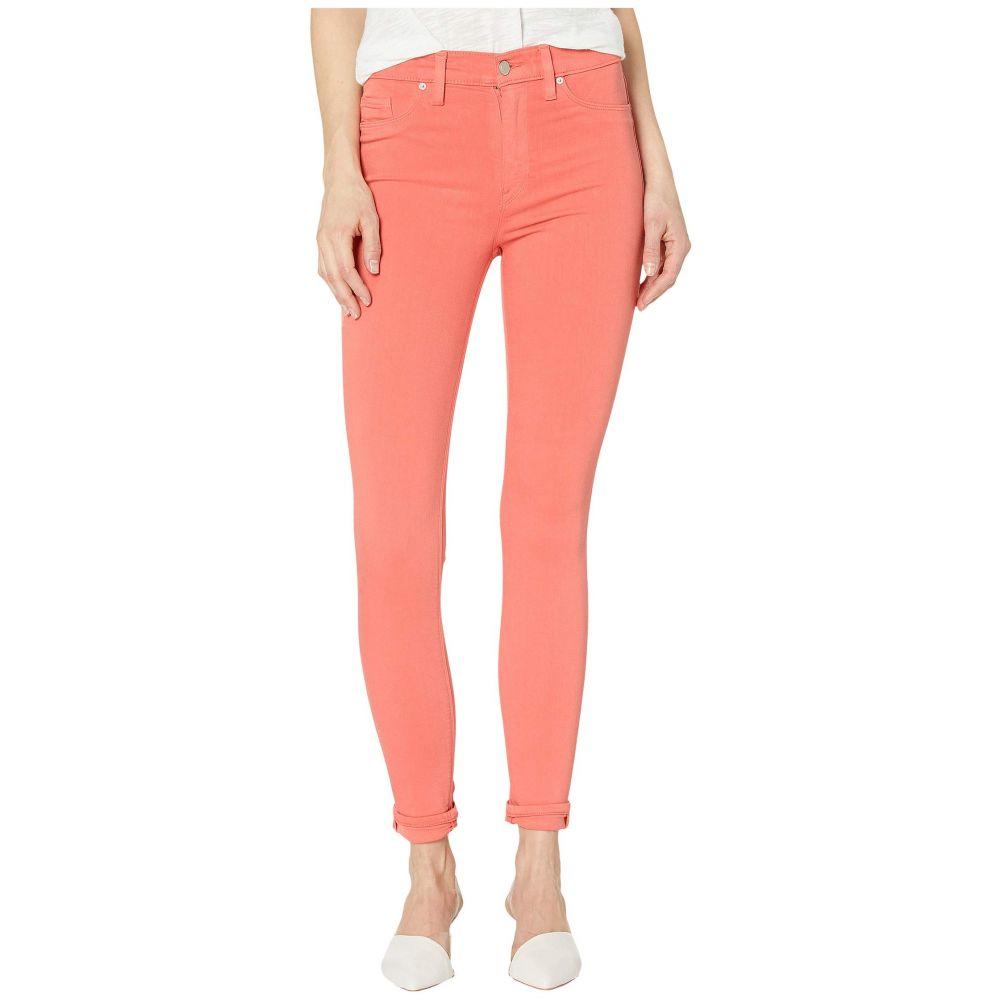 ハドソンジーンズ Hudson Jeans レディース ジーンズ・デニム ボトムス・パンツ【Barbara High-Waisted Ankle Skinny Jeans in Flamingo】Flamingo