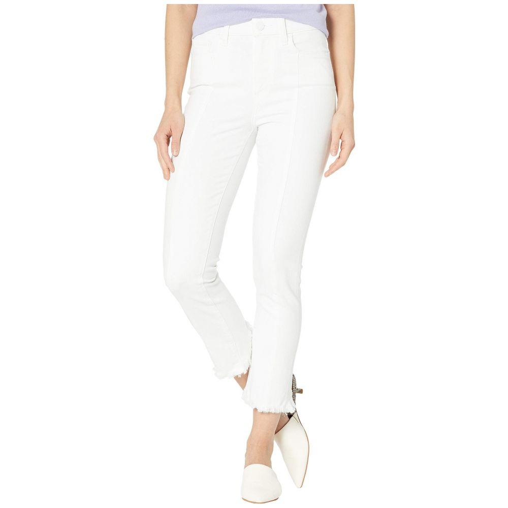 ペイジ Paige レディース ジーンズ・デニム ボトムス・パンツ【Hoxton Slim Crop w/ Seaming + Back Curved Hem in Crisp White】Crisp White