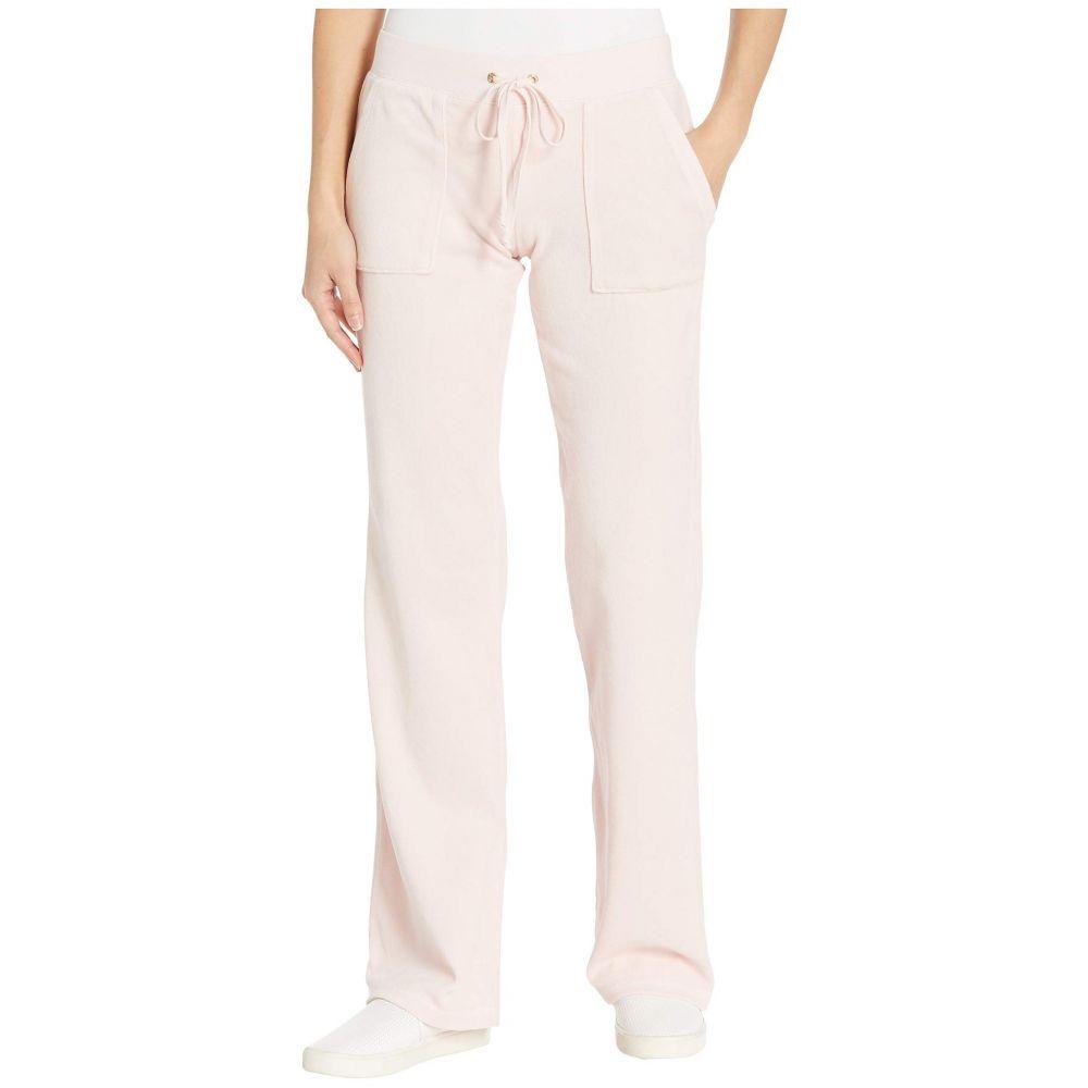 ジューシークチュール Juicy Couture レディース ボトムス・パンツ 【Del Rey Velour Pants】Silver Pink